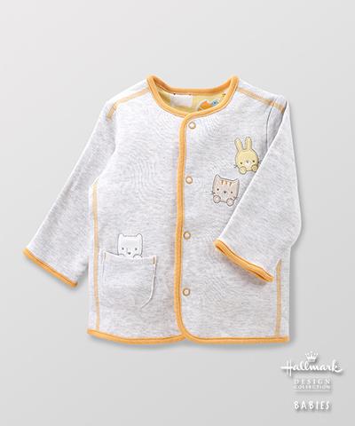 Hallmark Babies 嬰兒春夏純棉雙面穿夾克長袖外套 HE1-E01-05-BU-MY