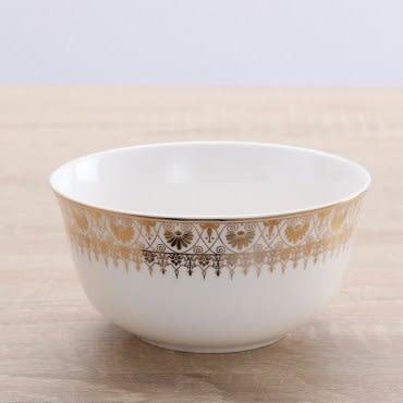 HOLA home 帝王苑骨瓷4.5吋金鐘碗