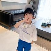 男童短袖T恤夏裝2020新款 中大童純棉夏季款兒童半袖體恤 米娜小鋪