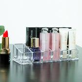 ♚MY COLOR♚無印風格系列-12格口紅收納盒 壓克力 化妝品 透明 化妝盒 桌面 整理盒 梳妝台 【P269】