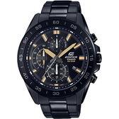 【台南 時代鐘錶 CASIO】卡西歐 EDIFICE 台灣公司貨 EFV-550DC-1A 三眼計時賽車風格手錶