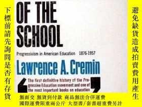 二手書博民逛書店The罕見Transformation Of The SchoolY256260 Lawrence Cremi
