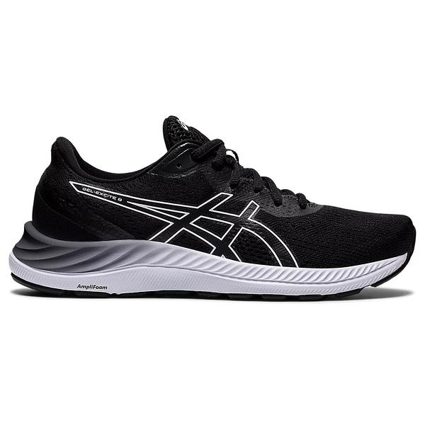 ASICS GEL-EXCITE 8(D) 女鞋 慢跑 寬楦 緩震 透氣 輕量 黑【運動世界】1012A915-002
