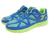 『雙惠鞋櫃』◆DIADORA迪亞多那 ◆網格樣式 率性幾何圖形 運動休閒鞋 ◆ (DA3126) 藍