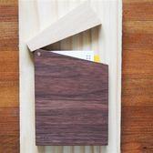 樂樂木名片盒1號/胡桃木(深色)【樂樂木 Lo-Lo Wood 】