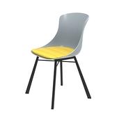 組 - 特力屋萊特 塑鋼椅 金屬腳架/灰椅背/黃座墊