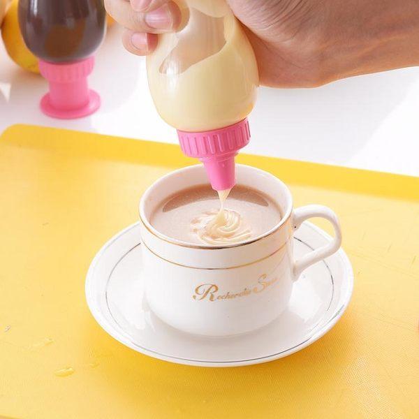 日本進口奶油裱花擠壓瓶塑料沙拉瓶番茄醬擠醬瓶廚房調味瓶罐用品GW