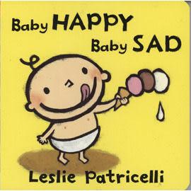 亞馬遜讀者推薦幼兒好書 :  BABY HAPPY BABY SAD