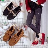 單鞋女新款平底百搭韓版學生一腳蹬快手紅人豆豆鞋社會女鞋子 時尚芭莎