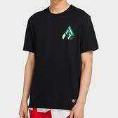 Nike Dri-FIT Giannis Logo 男裝 短袖 籃球 休閒 字母哥 透氣 排汗 黑【運動世界】CV1092-010