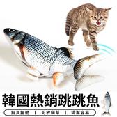 【台灣現貨 C016】 韓國熱銷 跳跳魚 跳動魚 貓草魚 貓薄荷魚 貓咪玩具 抱枕玩具 貓玩具 寵物玩具