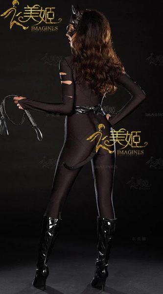 衣美姬♥歐美火辣 貓女郎 角色扮演服裝 萬聖節必備 連身惡魔遊戲服