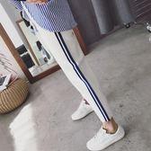 超火的褲子韓版學生寬鬆百搭運動褲女原宿BF風哈倫褲潮 貝兒鞋櫃