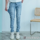 【OBIYUAN】牛仔褲 高質感 大彈力...