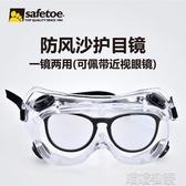 護目鏡-防護眼鏡密封護目鏡眼可戴防飛濺飛沫唾液防霧護目平光鏡兒童 喵喵物語