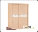 {{ 海中天休閒傢俱廣場 }} G-02 摩登時尚 衣櫥系列 049-3 白橡色金圓滿5尺衣櫥