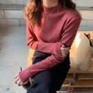 現貨 百搭半高領針織上衣針織衫毛衣10色【29-24-8M1548-19】ibella 艾貝拉