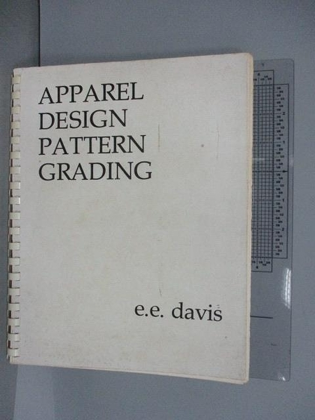 【書寶二手書T4/設計_FMM】Apparel Design Pattern Grading