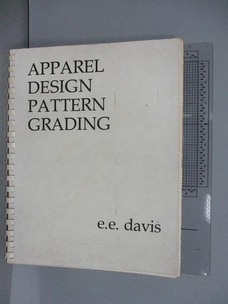 【書寶二手書T5/設計_PNC】Apparel Design Pattern Grading
