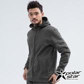 PolarStar 中性 刷毛保暖外套『暗灰』 P18205 戶外 休閒 登山 露營 保暖 禦寒 防風 刷毛