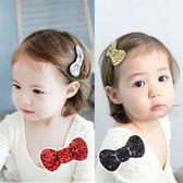 金蔥蝴蝶結髮夾 兒童髮飾 造型髮夾 頭飾