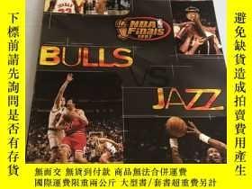 二手書博民逛書店1997罕見NBA FINALS PROGRAMY156405 NBA FINALS PROGRAM NBA