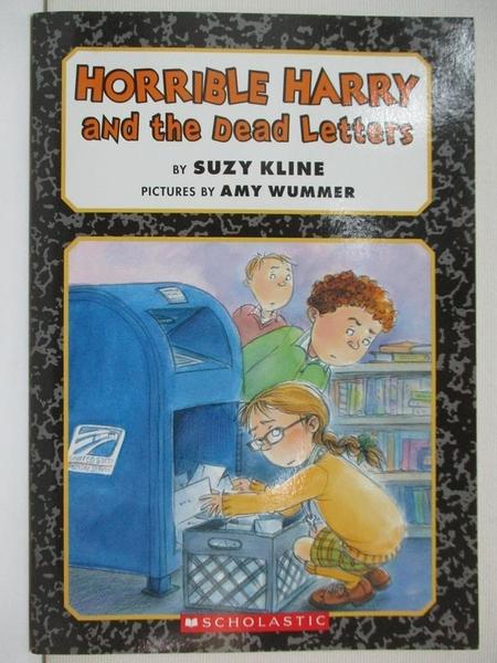 【書寶二手書T9/原文小說_A7C】Horrible Harry and the Dead Letters_Suzy Kline