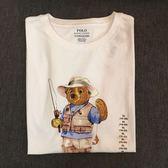 【蟹老闆】 Ralph Lauren Polo 釣魚小熊限量T(青年版)