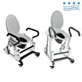 電動起身馬桶椅/推臀椅 - 含免治功能座墊 電動推臀起身 附煞車輪 可當馬桶扶手 需安裝[ZHCN2001]