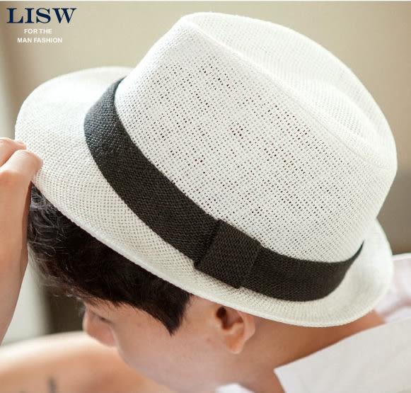 新品時尚紳士帽爵士帽韓製潮男女英倫復古小禮帽遮陽休閒舞台帽子尾牙 限時鉅惠