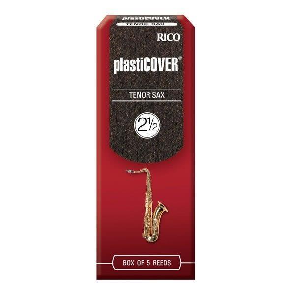 【金聲樂器】美國Rico Plasticover Tenor Sax 2.5號 次中音 薩克斯風 竹片 黑竹片 5片裝