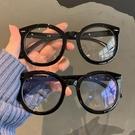 眼鏡框 網紅款韓版黑色粗框復古文藝素顏平光眼鏡框女大圓臉顯瘦眼鏡框男 寶貝寶貝計畫 上新