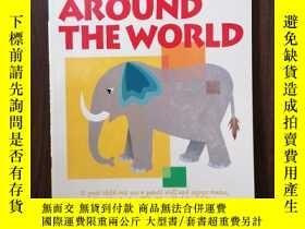 二手書博民逛書店My罕見Book of Mazes: Around the WorldY12800 Kumon Publish