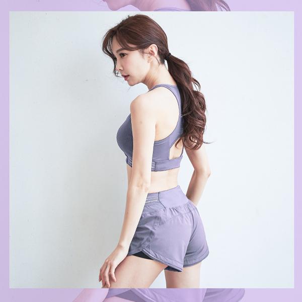 出清款-【BODYAIR】透色環繞紗運動內衣(健身.瑜珈.慢跑)