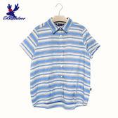 American Bluedeer-【春夏降價款】條紋抓摺襯衫(魅力價) 春夏新款