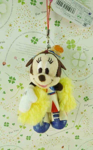 【震撼精品百貨】Micky Mouse_米奇/米妮 ~吊飾-啦啦隊娃娃