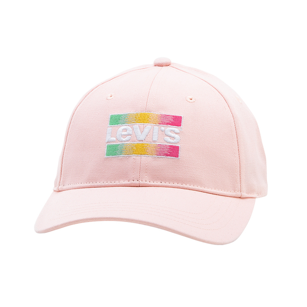 Levis 男女同款 可調式環釦棒球帽 / 漸層刺繡Sportwear Logo