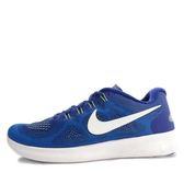 Nike Free RN [880839-401] 男鞋 慢跑 運動 休閒 舒適 透氣 藍 白