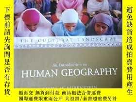 二手書博民逛書店The罕見cultural landscape: An introduction to human geograp