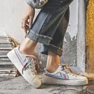 2020夏季休閒學生帆布鞋子女ulzzang百搭韓版網紅小白鞋板鞋洋氣  【端午節特惠】