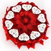 結婚婚禮婚慶創意用品浪漫韓式抖音盒子糖果盒糖盒喜糖盒中國風第七公社