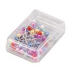【奇奇文具】徠幅LIFE NO.2196 彩色珠針 (45支入/40mm)
