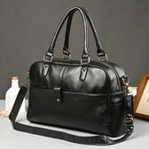 韓版男斜背手提包 旅行大包《印象精品》y1113