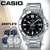 CASIO 卡西歐 手錶專賣店   MTP-VD01D-1E 指針男錶 不鏽鋼錶帶 黑色錶面 日期顯示  MTP-VD01D