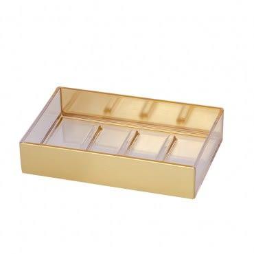 雅緻鋼琴肥皂盤 金色