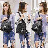 雙肩包女2018韓版軟皮時尚百搭迷你小包包2017新款潮胸包女士背包