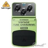 Behringer TO800 經典電子管音色超載效果器【Behringer效果器/TO-800】