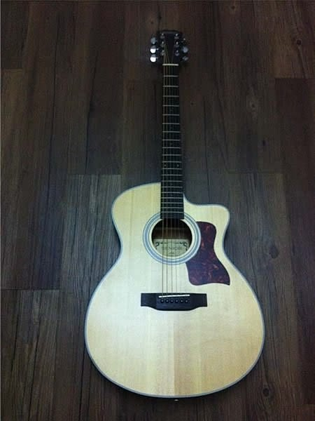 【金聲樂器廣場】全新 Woodtone T110C 木吉他 T-110C 民謠吉他 優質好聲