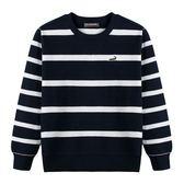 『小鱷魚童裝』條紋圓領衫(08號~18號)534403