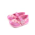粉紅豬小妹 Peppa Pig 娃娃鞋 魔鬼氈 童鞋 桃紅色 中童 PG8541 no811
